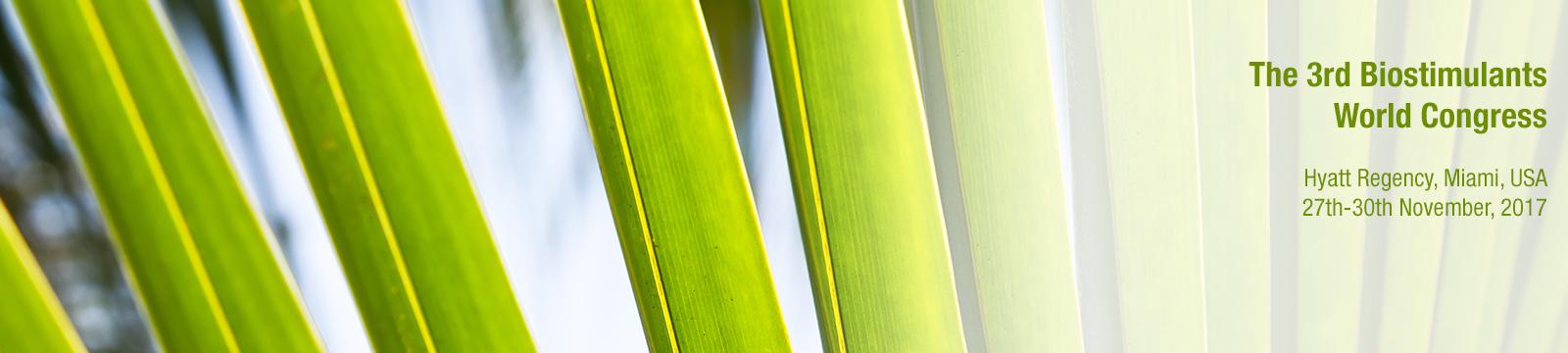 Tradecorp patrocina el 3er Congreso Mundial sobre el Uso de Bioestimulantes en Agricultura
